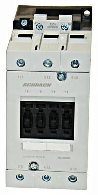Контактор LSD3 3P 65А 30кВт 230В / AC3 Schrack