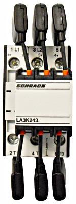 Контактор LA3K 3P 20 квар 220-240В 1но Schrack