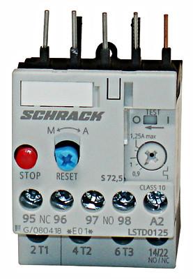 Реле LSTD тепловое 0.9-1.25А Schrack