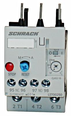 Реле LST0 тепловое 2.2-3.2А Schrack