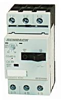 Выключатель электродвигателя BESD, 2.5 А, класс 10, 100 кА, 690В Schrack