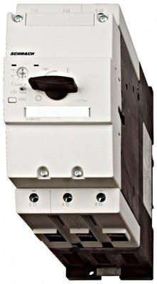Выключатель электродвигателя BES3, 100А, класс 10, 50кА, 690В Schrack