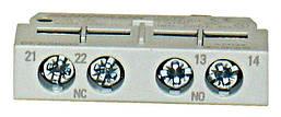 Блок вспомогательных контактов фронтального монтажа для BESD / 0/2/3 1но + 1НЗ Schrack
