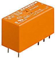 Реле силовое RT4 2 контакта 8A 230B АC шаг 5мм Schrack