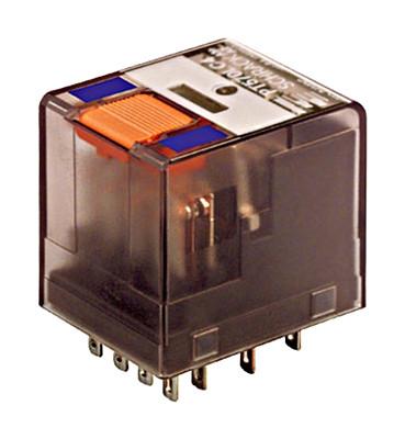 Реле промежуточное PT5 4 контакта 6А со светодиодом и фотодиодом 24В / DC Schrack