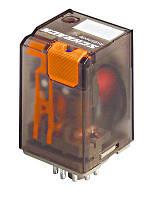 Реле многорежимный MT2 2-контакта 8 полюсов 10A 12В / DC Schrack
