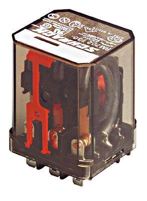 Силовое реле RM, 3 контакта, 10A 24В / DC Scharck