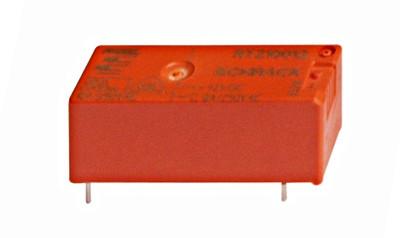 Реле для установки на печатных платах 1п.к. 8А 12В DC шаг 3.5мм AgCdO Schrack
