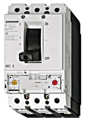 Регулирующий силовой автоматический выключатель S2 25кА 3P 200А тип А Schrack