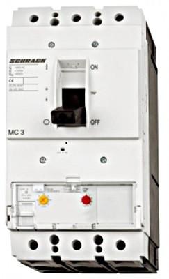 Регулирующий силовой автоматический выключатель S3 50кА 3P 400А тип A Schrack
