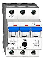 Автомат защиты двигателя 3P 1-1.6 Schrack