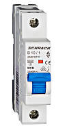 Автоматический выключатель 6кА 1P 10А х-ка B Schrack