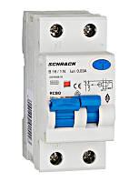 Дифференциальный автоматический выключатель 6кА / 30мА 1P + N 16A х-ка B Тип A Schrack