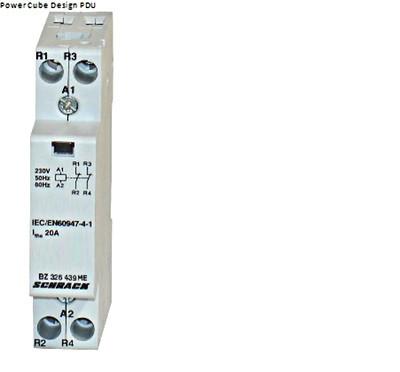 Модульный контактор 20А 2НЗ 230 AC Schrack