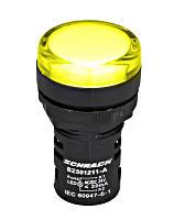 LED Индикатор желтый 24В AC / DC Schrack
