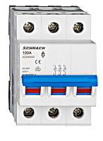 Выключатель нагрузки 100А 3P Schrack
