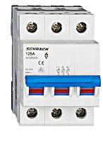 Выключатель нагрузки 125А 3P Schrack