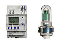 Выключатель цифровой фотоэлектрический с недельной таймером 16А 1п.к. Schrack