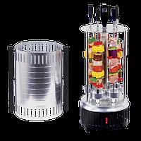 Шашлычница электрическая Domotec BBQ на 6 шампуров ZPX