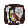 "Тарелка (б. кв.) ""Полосатый кот"""