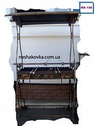 Мангал кованный с крышей