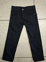 """Детские черные джинсы на флисе """"SZG"""" для мальчика"""