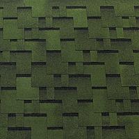 Битумная черепица Tegola TOP SHINGLE Futuro Зеленый