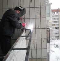 Вынос балкона Киев. Цена выноса на балконе в Киеве.