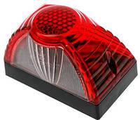 Подсветка номерного знака красная под лампу