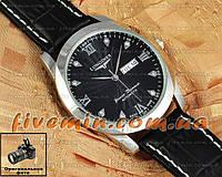 Наручные мужские часы Longines Genuine Diamands Automatic календарь кварцевые японский механизм