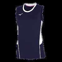 Женская волейбольная футболка Mizuno AUTHENTIC HIGH-KYU NS SHIRT (V2EA7201-14) AW17, Размеры XL