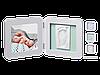 Двойная рамочка пастель Бебі Арт (фоторамка + отпечаток ручки или ножки) ТМ Baby Art Пастель 34120138