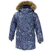 Зимняя куртка - парка для мальчика 6 лет р. 116 VESPER ТМ HUPPA синяя 17480030-73286