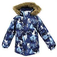 Зимняя куртка MARINEL для мальчика 2 лет р. 92 ТМ HUPPA 17200030-72586