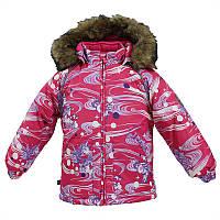 Зимняя куртка VIRGO для девочки 18 мес. - 4 лет, размеры 86,98,104 ТМ HUPPA 17210030-71163