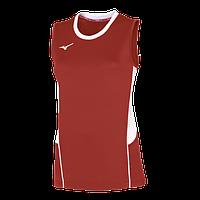 Женская волейбольная футболка Mizuno AUTHENTIC HIGH-KYU NS SHIRT (V2EA7201-62) AW17, Размеры L