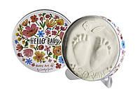 Магическая коробочка Цветы (создание первых отпечатков ручек/ножек новорожденного) ТМ Baby Art 3601092200