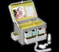 Моя маленькая шкатулка подарок новорожденному Treasures Box (шкатулка + фоторамка + отпечаок ножки)  Baby Art 34120113