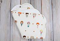 """Непромокаемая пеленка """"Девочки"""" для новорожденного (60*80 см) ТМ MagBaby 130006, фото 1"""