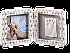 Рамочка Беби Арт Медно-белая (фоторамка + отпечаток ручки или ножки) Baby Art 3601092400
