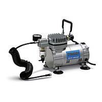 Миникомпрессор низкого давления с фильтром и шлангом 1/8HP Sumake MC-1100HFGM