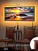 Картина с подсветкой на светодиодах, Закат