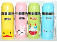 Термос детский (350 мл) T24, термос для школы, термос для напитков, качественный термос для детей