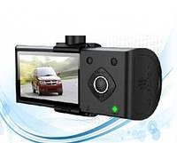 Видеорегистратор c GPS DVR H990 + Камера заднего вида