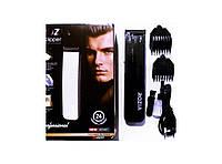 Триммер для стрижки волос с насадками Rozia HQ 207, машинка для стрижки