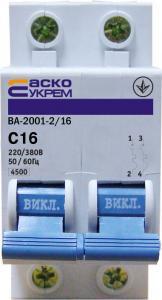 Автоматический выключатель ВА 2012  2п  32А