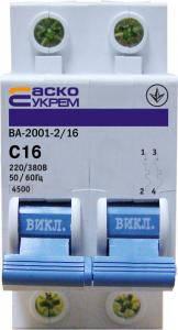 Автоматический выключатель ВА 2012  2п  32А, фото 2
