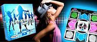 Коврик для танца DANCE MAT , танцевальный коврик, музыкальный коврик для тв и пк с USB