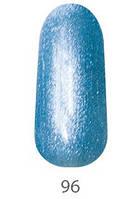 Гель-лак My Nail 15 мл №096 (серо-голубой с мелкой блесткой)