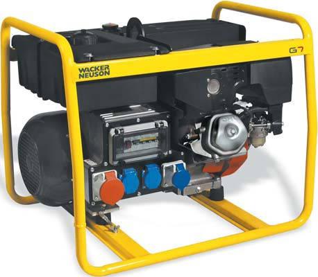 Генератор бензировый Wacker Neuson GS 12 Ai  ( 12 кВа ), фото 2